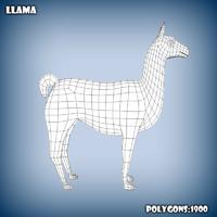 c4d base mesh llama