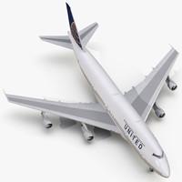 boeing 747-300 united max
