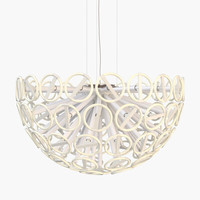 3d tom strala calmares ceiling lamp model