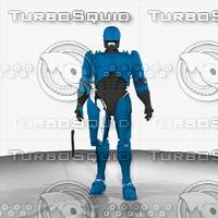 robocop classic - armor 3d model