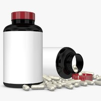 bottle capsules 3ds