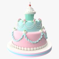 obj cake