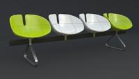 fjord bench sistema iray 3d max