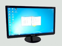monitor philips e-line 227e4qhad 3d model
