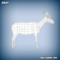 c4d base mesh goat