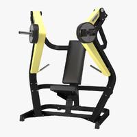 3d chest press