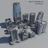 Block modern city(1)