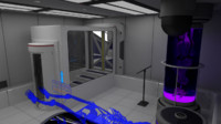 3d scifi interior construction kit model