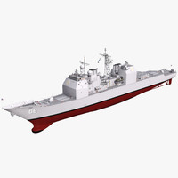 max uss ticonderoga class cruiser