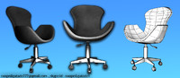 3d product chair model
