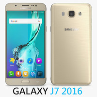 3d model of samsung galaxy j7 2016