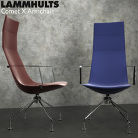 x armchair 3d model