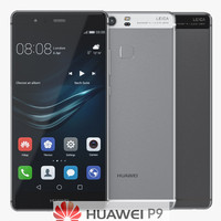 Huawei P9 Metal Gray And White Silver Smartphones