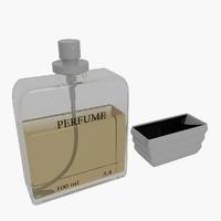 3d model of perfume