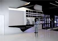 3ds interior scene