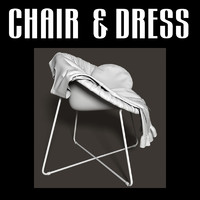 chair dress 3d obj