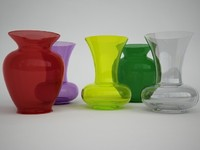 3d model kartell la boheme vase