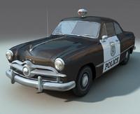 max 1949 police car