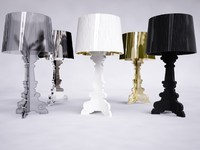 3d kartell bourgie lamp