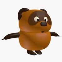 3d model winnie pooh