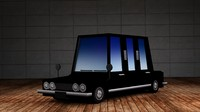 limousine - cartoon cars max