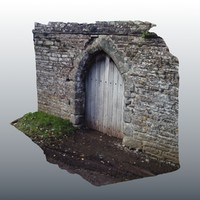 Medieval Door Scan 02