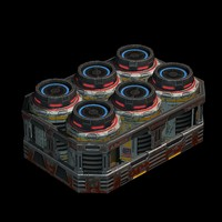 barrel pack 3d max