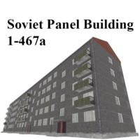 Soviet Panel Building