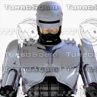 3d robocop classic - end model