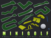 3d minigolf golf club