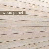 wood panel obj