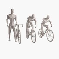 3d model man figure