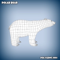 c4d base mesh polar bear