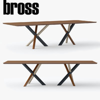 3d bross w table model