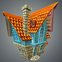 funny house games 3d model