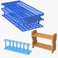 3d model test tube racks 02