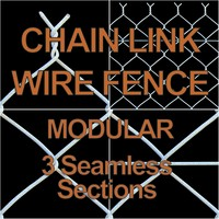 chain link wire fence