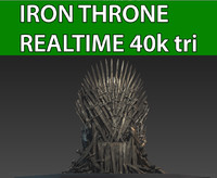 iron throne obj