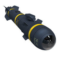 hellfire agm-114 missile obj