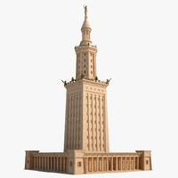 3d model ancient lighthouse alexandria