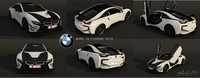 bmw i8 tuning hd 3d max