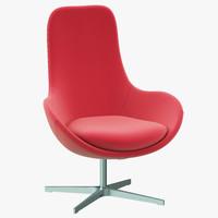 ditre italia linear chair classic 3d max