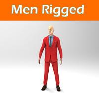men rigged
