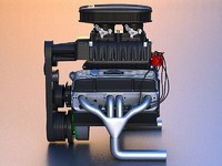 3d edelbrock e-force supercharger