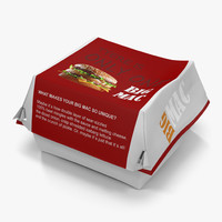 Burger Box 2 Big Mac
