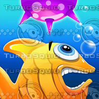 Aqua Rush - Endless fish controlling Game with 3 splits