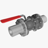 3d ball valve