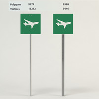 low flying aircraft signs