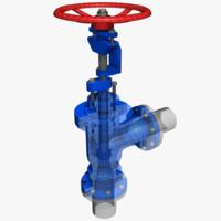 3d pressure relief valve 2 model
