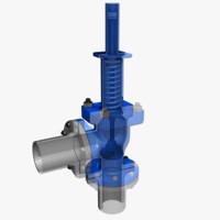 pressure relief valve 1 3d model